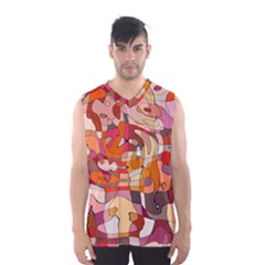 Abstract Abstraction Pattern Moder Men s Basketball Tank Top
