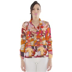Abstract Abstraction Pattern Moder Wind Breaker (women)
