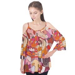 Abstract Abstraction Pattern Moder Flutter Tees