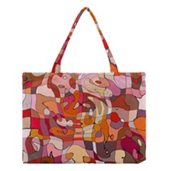 Abstract Abstraction Pattern Moder Medium Tote Bag