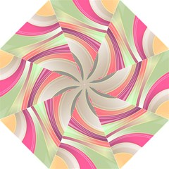 Abstract Colorful Background Wavy Golf Umbrellas