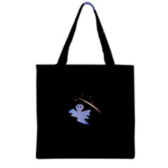 Ghost Night Night Sky Small Sweet Grocery Tote Bag