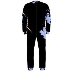 Ghost Night Night Sky Small Sweet Onepiece Jumpsuit (men)