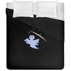 Ghost Night Night Sky Small Sweet Duvet Cover Double Side (california King Size)