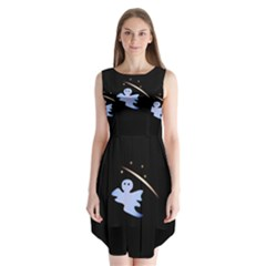 Ghost Night Night Sky Small Sweet Sleeveless Chiffon Dress
