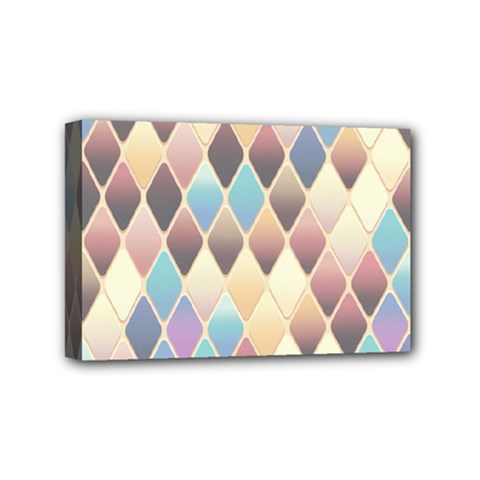 Abstract Colorful Background Tile Mini Canvas 6  X 4