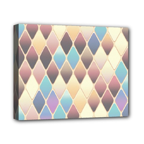 Abstract Colorful Background Tile Canvas 10  X 8