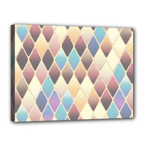 Abstract Colorful Background Tile Canvas 16  X 12