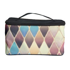 Abstract Colorful Background Tile Cosmetic Storage Case