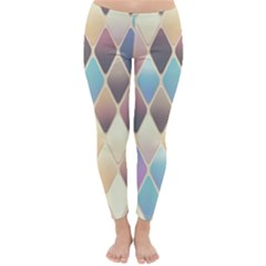 Abstract Colorful Background Tile Classic Winter Leggings