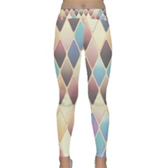 Abstract Colorful Background Tile Classic Yoga Leggings