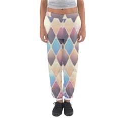 Abstract Colorful Background Tile Women s Jogger Sweatpants
