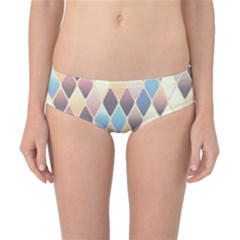 Abstract Colorful Background Tile Classic Bikini Bottoms