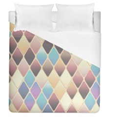 Abstract Colorful Background Tile Duvet Cover (queen Size)
