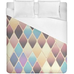 Abstract Colorful Background Tile Duvet Cover (california King Size)