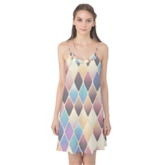 Abstract Colorful Background Tile Camis Nightgown
