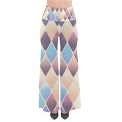 Abstract Colorful Background Tile Pants