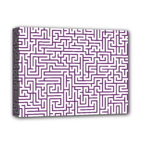 Maze Lost Confusing Puzzle Deluxe Canvas 16  X 12