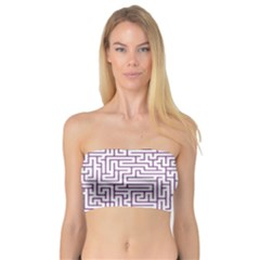 Maze Lost Confusing Puzzle Bandeau Top