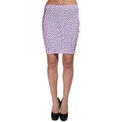 Maze Lost Confusing Puzzle Bodycon Skirt