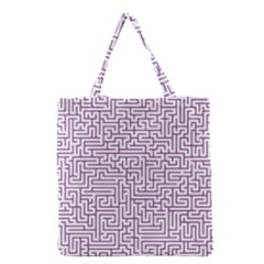 Maze Lost Confusing Puzzle Grocery Tote Bag