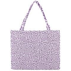 Maze Lost Confusing Puzzle Mini Tote Bag