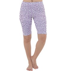 Maze Lost Confusing Puzzle Cropped Leggings