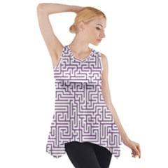 Maze Lost Confusing Puzzle Side Drop Tank Tunic