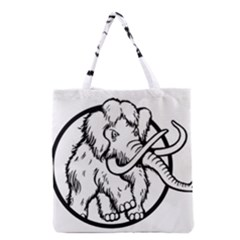 Mammoth Elephant Strong Grocery Tote Bag