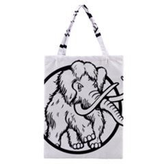 Mammoth Elephant Strong Classic Tote Bag