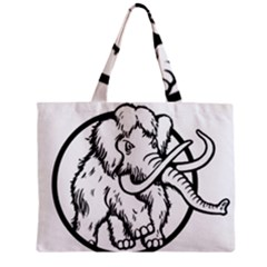 Mammoth Elephant Strong Zipper Mini Tote Bag