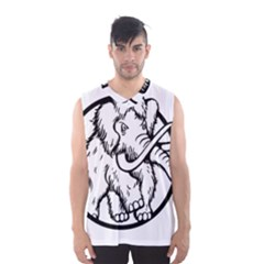 Mammoth Elephant Strong Men s Basketball Tank Top