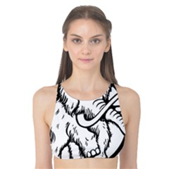 Mammoth Elephant Strong Tank Bikini Top