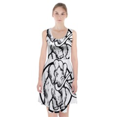 Mammoth Elephant Strong Racerback Midi Dress