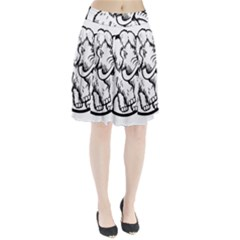 Mammoth Elephant Strong Pleated Skirt