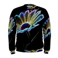 Flower Pattern Design Abstract Background Men s Sweatshirt