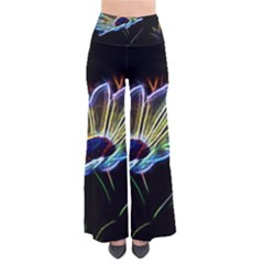 Flower Pattern Design Abstract Background Pants