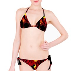 Horror Zombie Ghosts Creepy Bikini Set