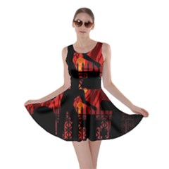 Horror Zombie Ghosts Creepy Skater Dress
