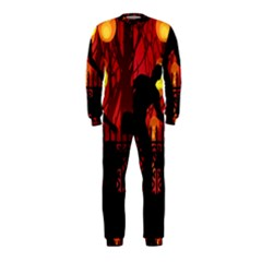 Horror Zombie Ghosts Creepy Onepiece Jumpsuit (kids)