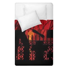 Horror Zombie Ghosts Creepy Duvet Cover Double Side (single Size)