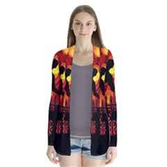 Horror Zombie Ghosts Creepy Cardigans
