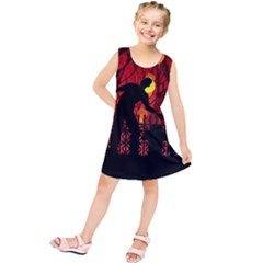 Horror Zombie Ghosts Creepy Kids  Tunic Dress