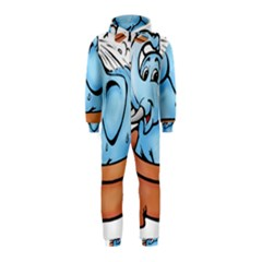 Elephant Bad Shower Hooded Jumpsuit (Kids)