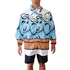 Elephant Bad Shower Wind Breaker (kids)
