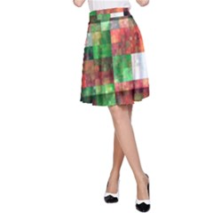 Paper Background Color Graphics A Line Skirt