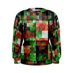 Paper Background Color Graphics Women s Sweatshirt