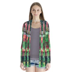 Paper Background Color Graphics Cardigans