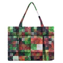 Paper Background Color Graphics Medium Zipper Tote Bag