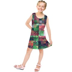 Paper Background Color Graphics Kids  Tunic Dress
